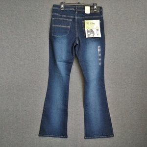 Express Flare Stretch Fit Low Rise Jeans 13/14 R